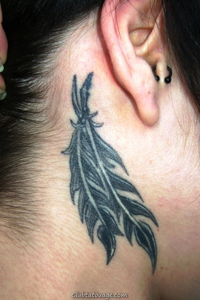 Petit-Feather-Tattoo-Designs