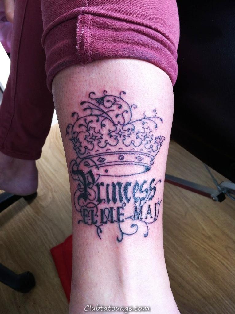 Tattoo Designs Tattoo Princesse Couronne Designs de couronnes