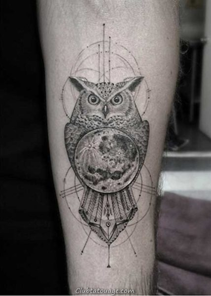 Moon Tattoo 2