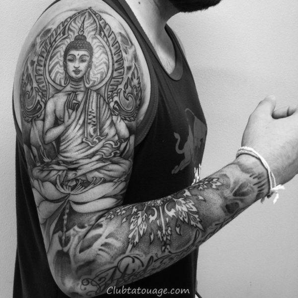 Buddha Tattoo 2