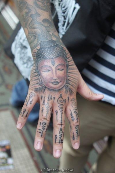 Idées Buddha Tattoo