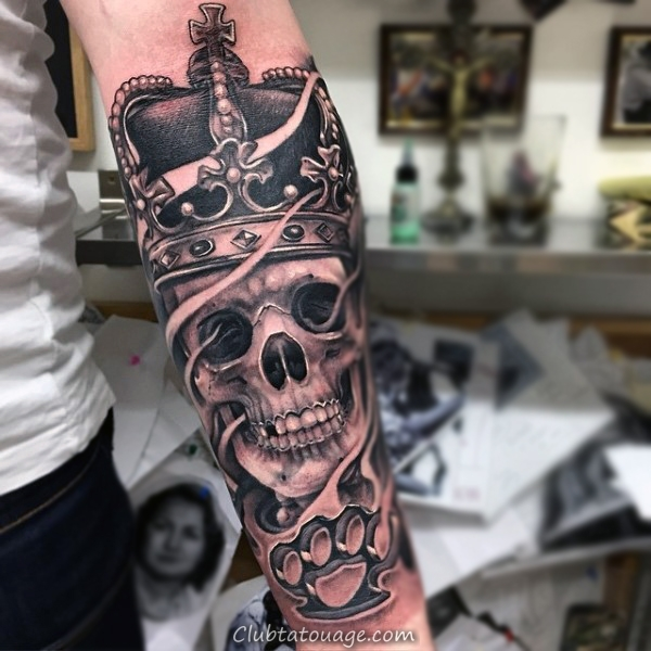 Crown Tattoo 6