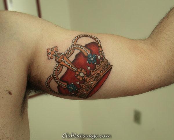 Tattoo Couronne 9