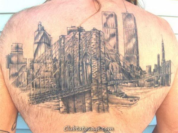 Image tatouage pont de san francisco tatouage for Best tattoo shops in brooklyn