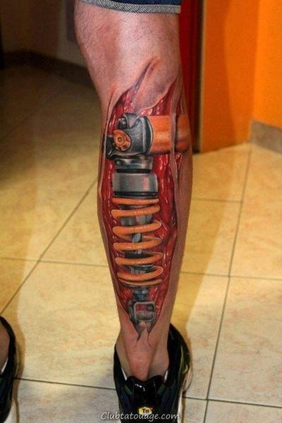 Tattoo 10 mécanique