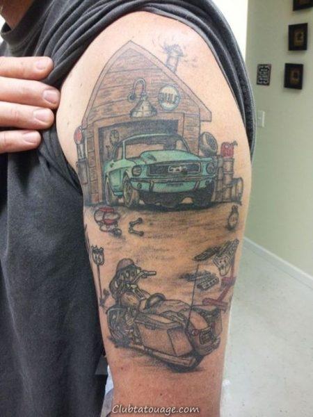 Tattoo 14 mécanique