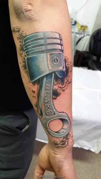 Tattoo 15 mécanique