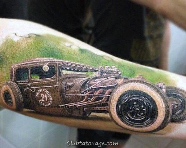 Tattoo 16 mécanique