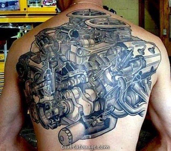 Id es de tatouage pour m canique club tatouage