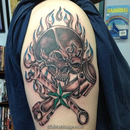 Tattoo pour mécanique 5