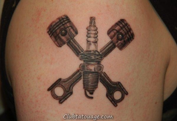 Tattoo pour mécanique 6