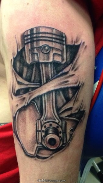 Tattoo pour mécanique 8