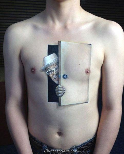 tatouages 3D 3