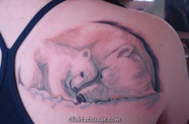 18 Tatouages ourses et leur signification