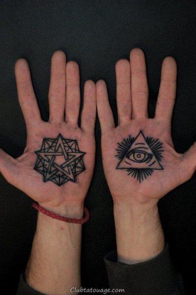 Tatouages sur votre main 1