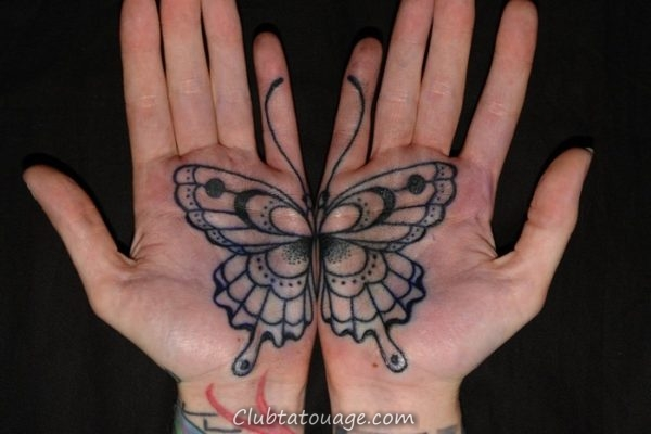 Tatouages sur votre main 2