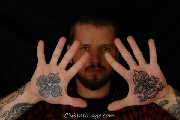 Tatouages Creative dans votre main