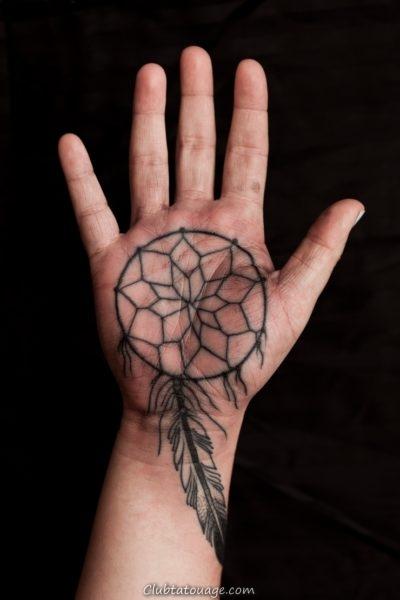 Tatouages sur votre main 8