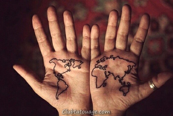 Tatouages sur votre main 9