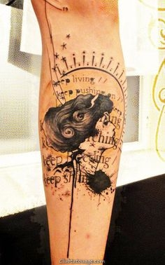 Tatouages Creative sur Forearm