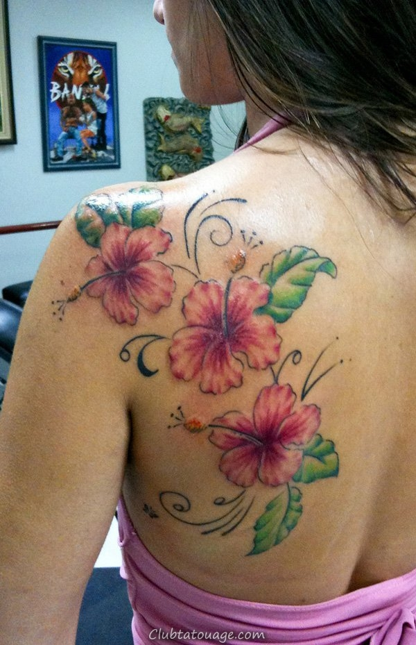 Tulip Flower Tattoo Designs