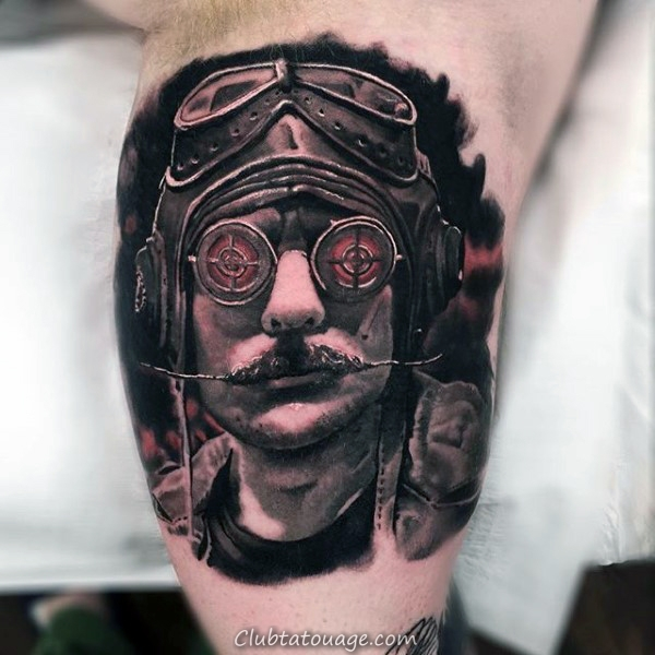 incroyable Roman guerrier intérieur Arm Tattoos For Men