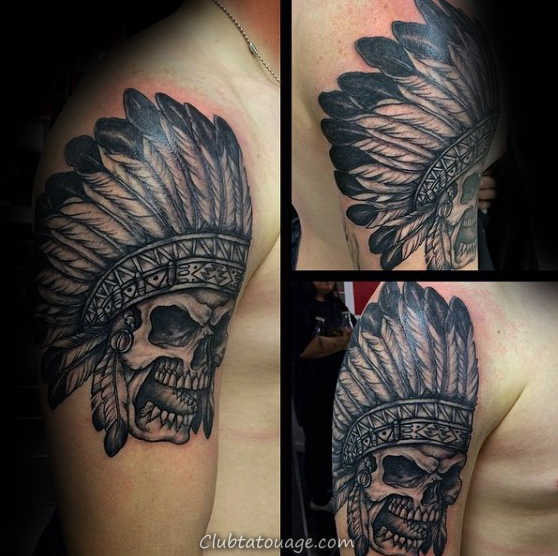 angry-indian-skull-mens-upper-arm-tattoo