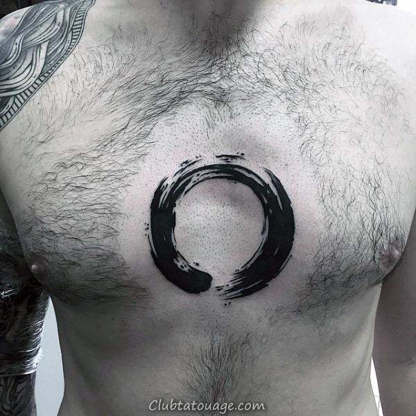 Charge Stroke Bull Brush épaule Upper Tattoo Pour Gentlemen