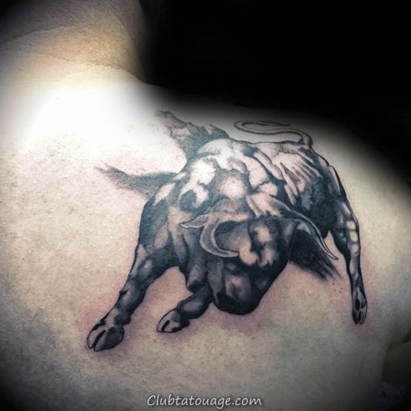 Cercle Et Ligne Coup de pinceau épaule Homme Tattoo Arm