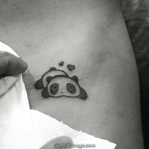 Tatouages Panda
