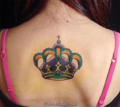 18 Tatouages Couronne et leur signification