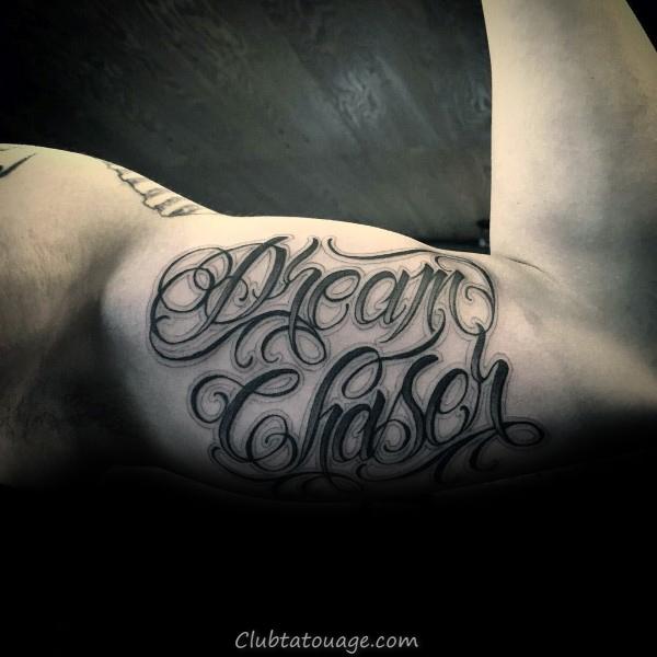 width Ester Rose Guys Script Outer Forearm Tattoo Inspiration