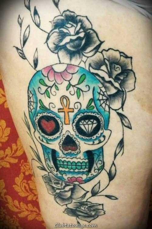 Sens du crâne Tatouages