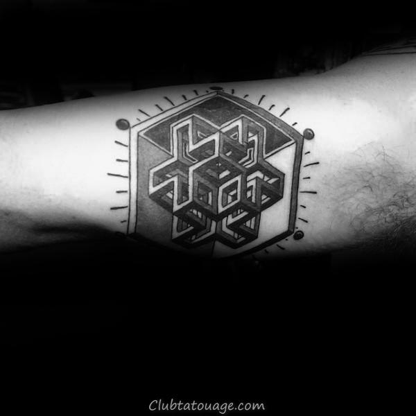 100 Tatouages bras intérieur pour les hommes - Masculine Design Ideas