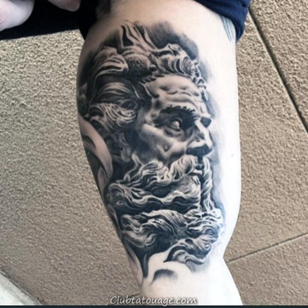 Inner Arm montre vitesse tatouages pour les hommes