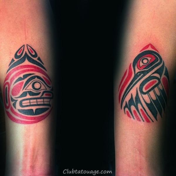 70 Haida Tattoo Designs For Men - Idées d'encre tribales