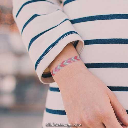 20 Belle et délicate Tatouages femmes Bracelets!