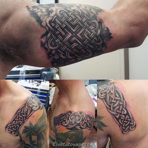 Hommes Rose Flower Dotwork Inner Arm Tattoos