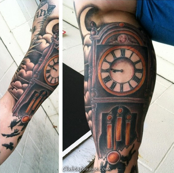 Mobster Inner Arm Mens Tattoo