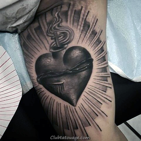 Outer espace intérieur bras Homme Tattoo Ideas
