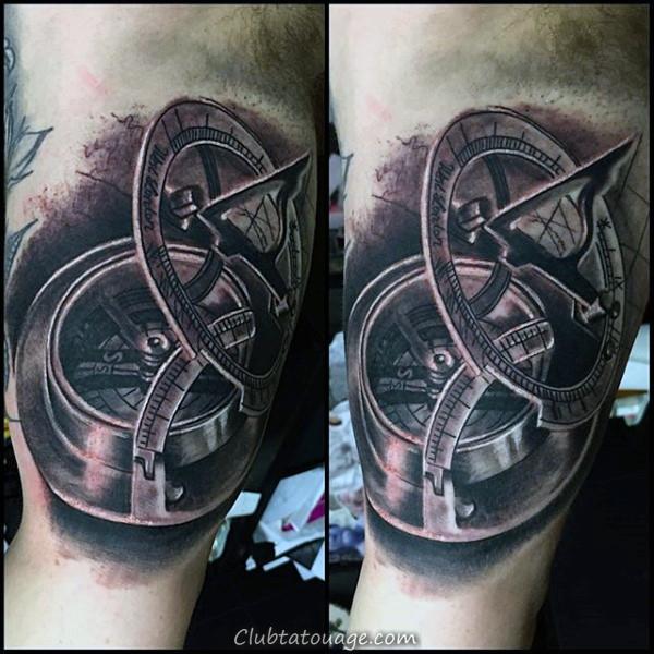 width réaliste 3d Oeil humain Guys Inner Arm Tattoos