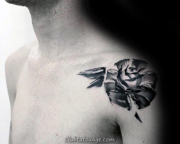 Stroke Om Brush Mens Retour Tattoo 566