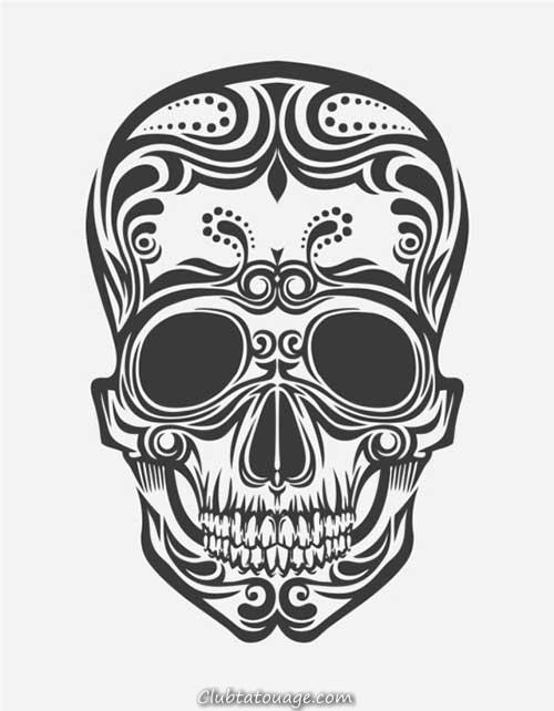 Skull Tattoos Images