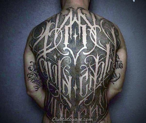 Outer Forearm Script Tattoo Sur Gentleman