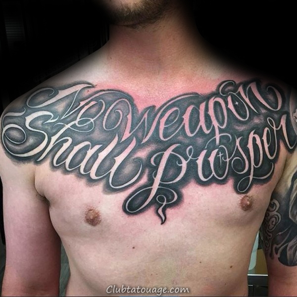 Quote Love Tattoo Script Hommes Inner Forearm