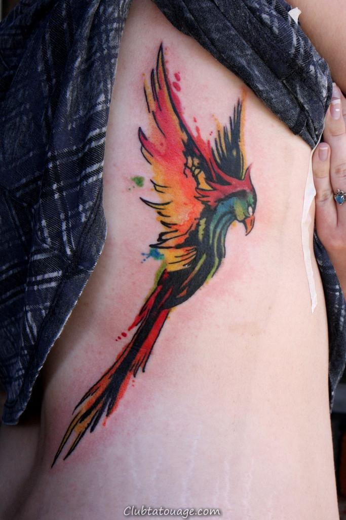 phoenix tatouage