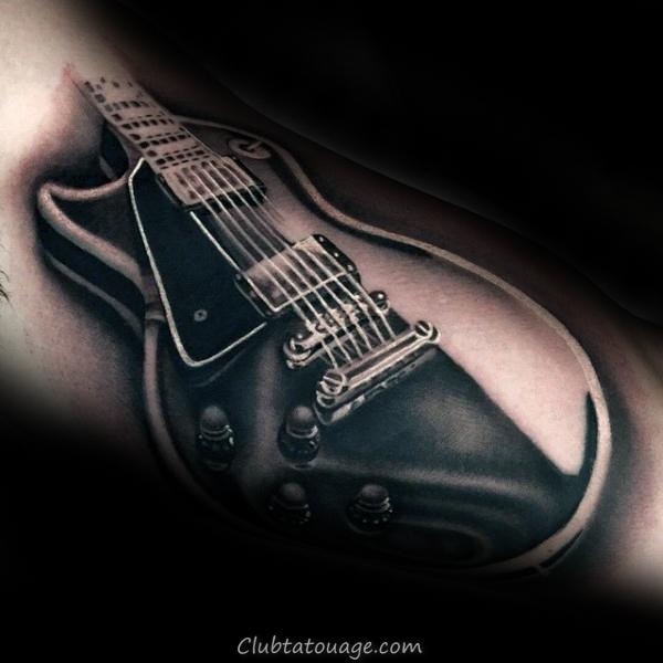 Shotgun Inner Arm Mens Tattoo Idées