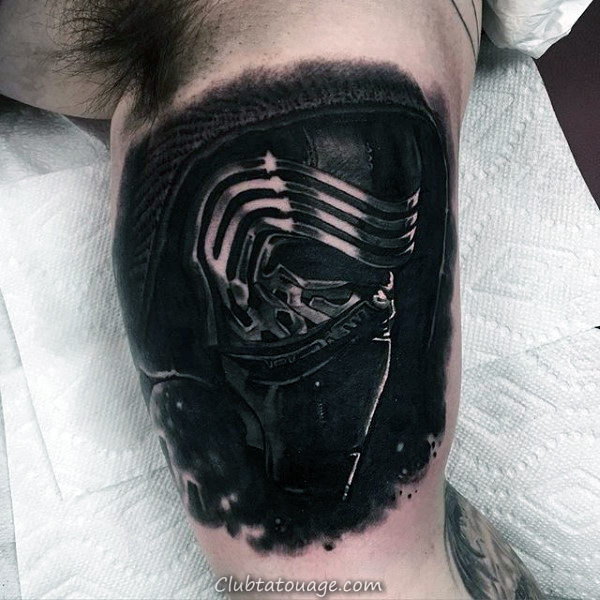 Loup Avec Arrows Inner Arm Tattoos For Men