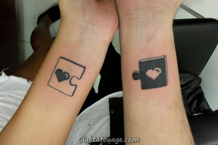 couples de tatouage