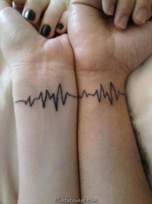 width double romantica de tatouage